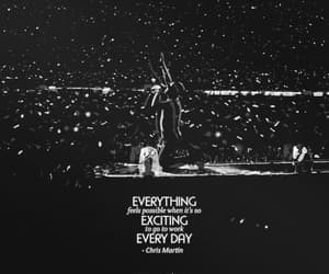 black and white, coldplay, and Chris Martin image