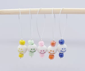 crochet, knitting markers, and stitch markers box image