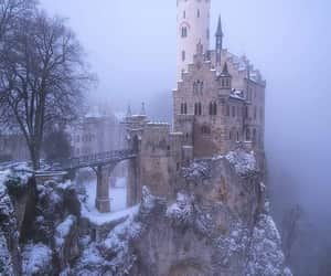 castle and winter image