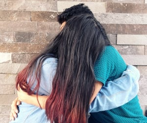 amor, Relationship, and hair red image