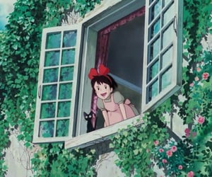 ghibli, kiki's delivery service, and anime image