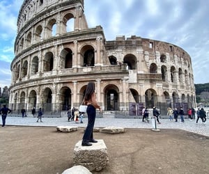 me, roma, and vacanza image