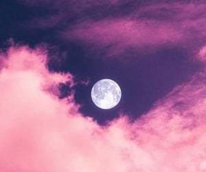 pink and moon image