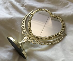 mirror, aesthetic, and heart image