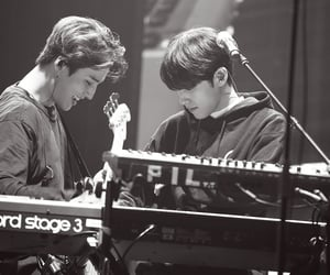 black and white, brian, and youngk image