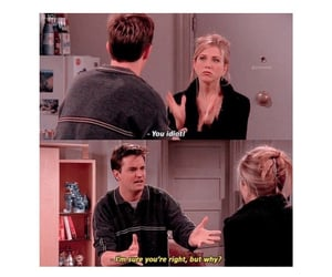 caption, tv show, and chandler image