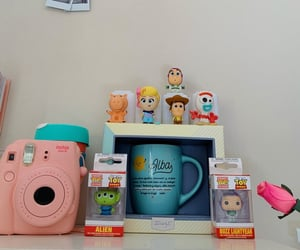 aesthetic, toy story, and university image