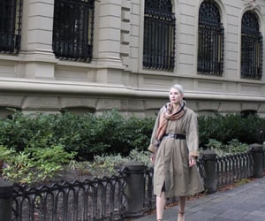 Burberry, paris, and streetstyle image
