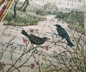 bird and music image