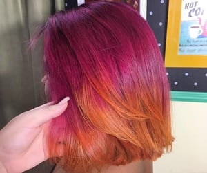 sunset hair color image