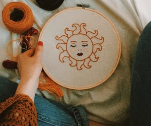 art, diy, and embroidery image