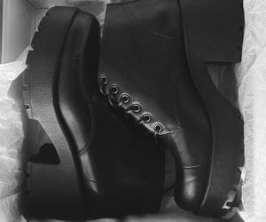 black, fashion, and heels image