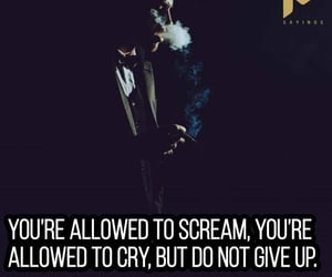 cry, emotions, and quotes image