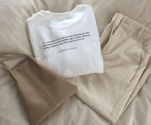 beige, casual, and fashion image