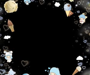 cyber, ice cream, and overlay image