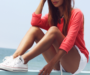 girl, fashion, and summer image