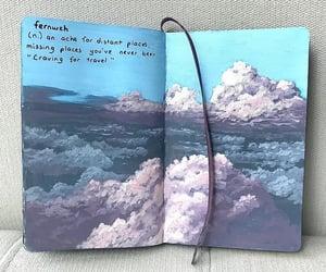art, artwork, and sketchbook image