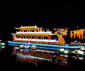 china, luces, and lights image