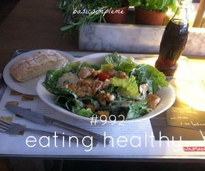 tumblr, eating healthy, and basicsimpleme image