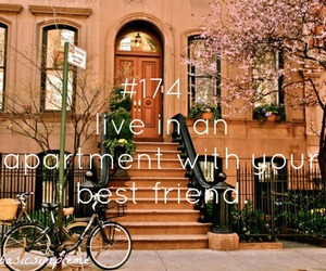 apartment, live, and ny image