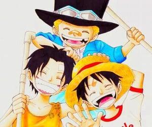 ace, manga, and op image