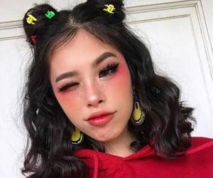 beauty, blush, and eyelashes image