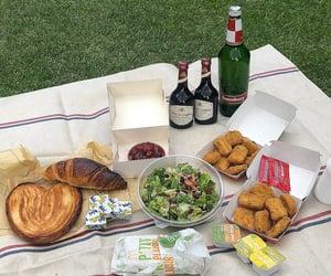 france, paris, and picnic image