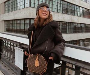 biker jacket, blogger, and fashion image
