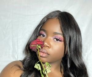 aesthetic, blackgirl, and brownskin image
