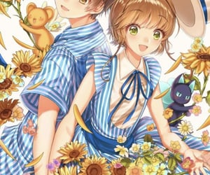 card captor sakura and syaoran image