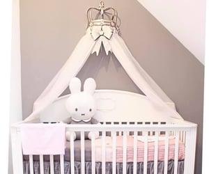 baby, crib, and babyroom image