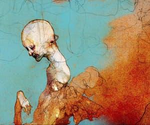 concept, dark art, and digital image