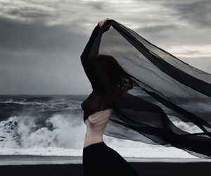 abyss, melancholy, and black image