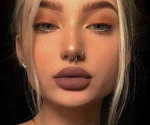 piercing, septo, and septum image