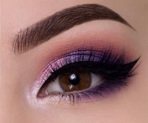 beauty, cosmetics, and eye makeup image
