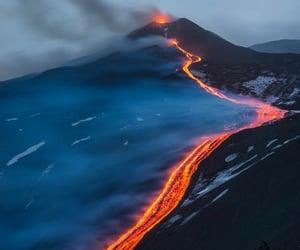 eruption, volcano, and pinterest image
