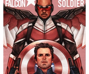 art, winter soldier, and bromance image