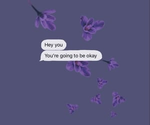 wallpaper, flowers, and message image