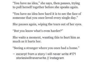 empty, heartbreak, and home image