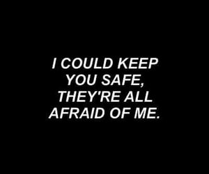 afraid, i, and safe image