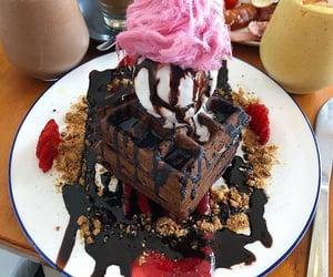 breakfast, chocolate, and dessert image