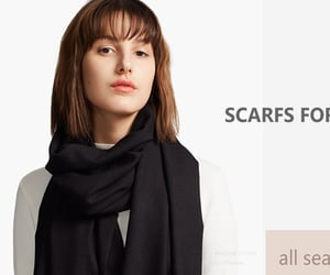 scarves, shawl, and trendy image