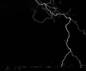black, lightning, and Strike image