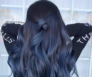 hair, beauty, and azul image
