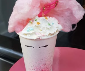 cafe, cotton candy, and delicious image
