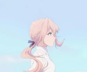 anime, violet evergarden, and violet image