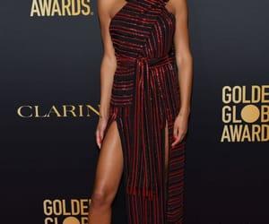 actress, black woman, and golden globe awards image