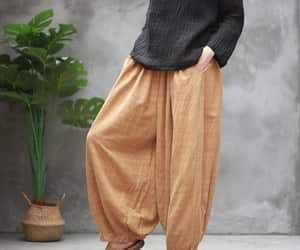 bloomers, pants for women, and blue jeans image