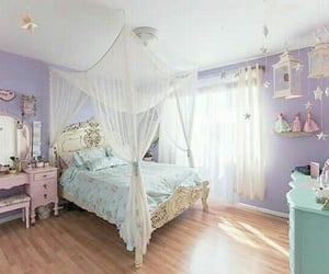 bedroom, girly, and home decor image