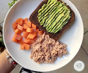 bread, dieta, and food image